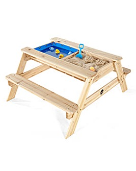 Plum Surfside Sandpit/Water Picnic Table
