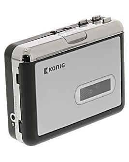 Konig USB Cassette Player MP3 Converter