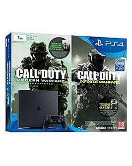 PS4 1TB Slim Inc COD Infinite Warfare