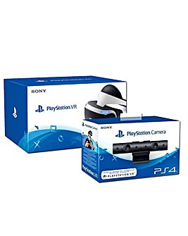Playstation VR Headset  PS4 Camera