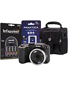 Kodak PIXPRO AZ251 Black Camera Kit