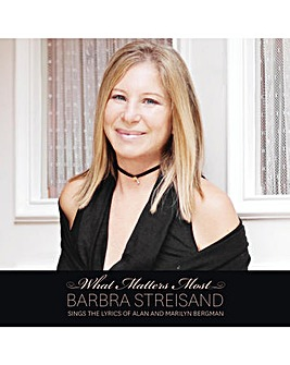 Barbra Streisand what matters most