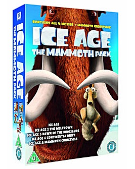 Ice Age 1 to 4 Mammoth Collection