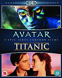 Avatar and Titanic Double Pack 3d