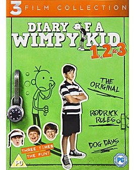 Diary Of A Wimpy Kid 1 to 3