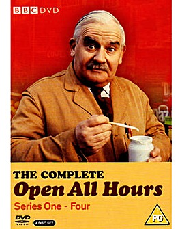 Open All Hours Complete Series 1 to 4