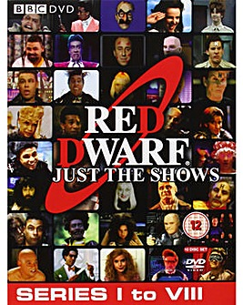Red Dwarf Just The Shows Series 1 to 8