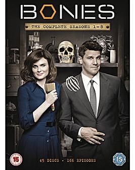 Bones Seasons 1 to 8