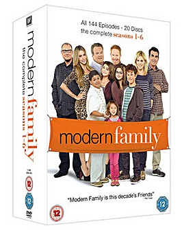 Modern Family Seasons 1 to 6