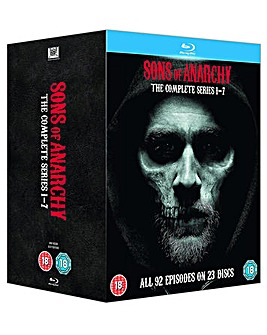 Sons Of Anarchy Seasons 1 to 7