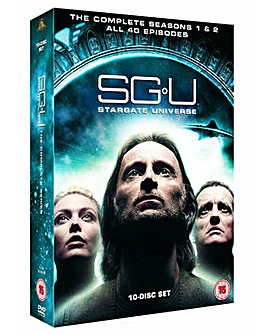 Stargate Universe S1 And S2