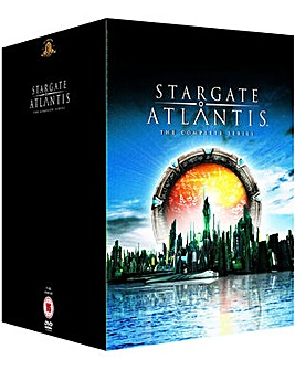 Stargate Atlantis S1 to 5