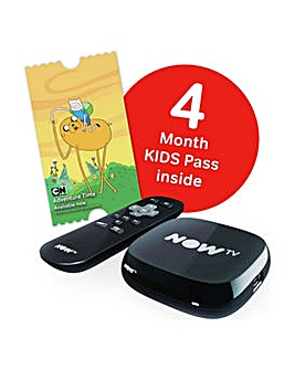 NOW TV Box with 4 Months Kids Ent Pass
