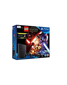PS4 Slim 1TB Inc Lego Star Wars Awakens