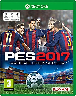 Pro Evolution Soccer PES 2017 Xbox One