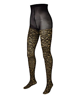 Naturally Close Gold Baroque Tights