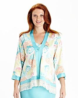 Pretty Secrets Printed Kimono Jacket