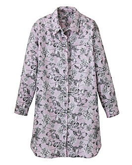 Pretty Secrets Floral Print Nightshirt