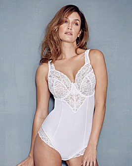 Ella Lace Light Control Bodyshaper White