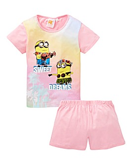 Girls Minions Pyjamas