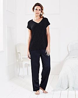 Pretty Secrets Spot Print Pyjama Set