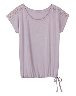Pretty Secrets Blouson Pyjama Top