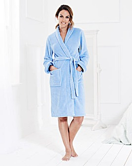 Pretty Secrets Fluffy Fleece Gown 38in