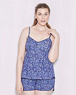 Pretty Secrets Paisley Cami Pyjama Set