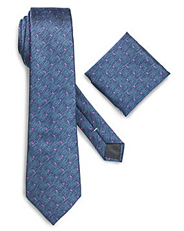 Williams & Brown Spot Tie and Pocket
