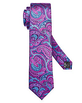 Williams & Brown Paisley Silk Tie