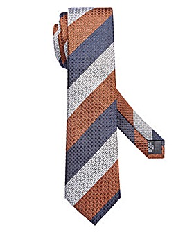 Williams & Brown Stripe Silk Tie