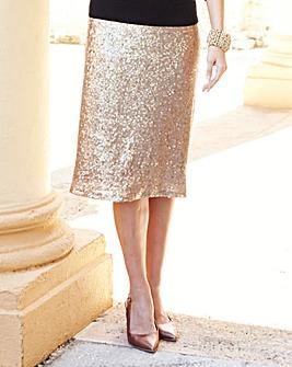 JOANNA HOPE Sequin Skirt