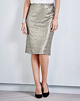 JOANNA HOPE Sequin Skirt