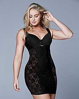 Black Light Control Lace WYOB Full Slip