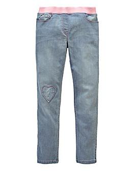 KD Girls Knit Top Jeans Generous Fit