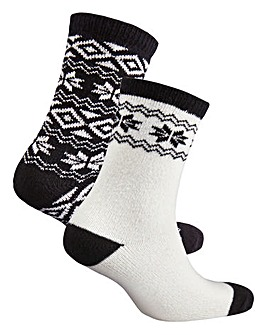 2 Pack Ankle Socks