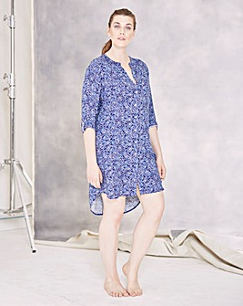 Pretty Secrets Paisley Nightshirt