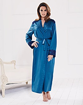 Joanna Hope Satin Wrap Gown