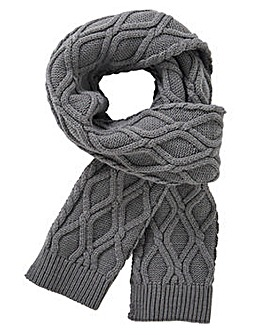 Williams & Brown Cable Knit Scarf