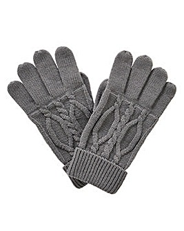 Williams & Brown Cable Knit Gloves