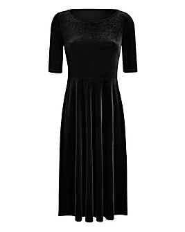 JOANNA HOPE Velour Dress