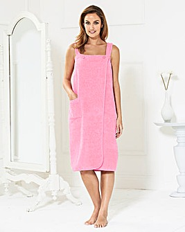 Pretty Secrets Towelling Shower Wrap