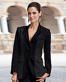 Together Lace Trim Jacket