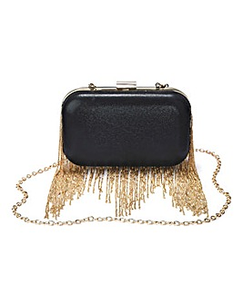 JOANNA HOPE Chain Detail Clutch