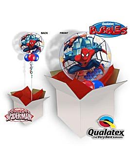 Spider Man Bubble Balloon In A Box
