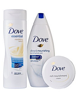 Dove Bliss Booster Trio Gift Set