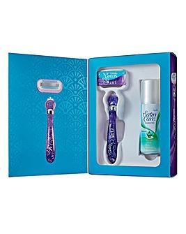 Venus Gillette Swirl Gift Set