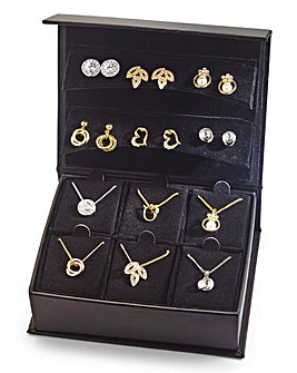 Earrings & Necklace Travel Set