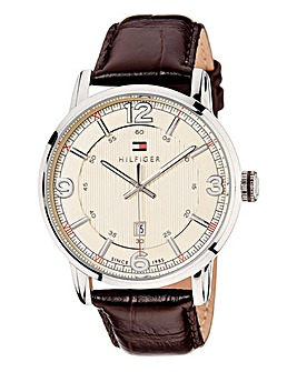 Tommy Hilfiger Brown Strap Watch