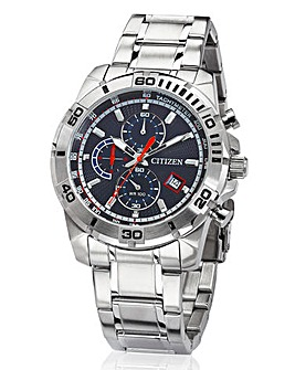 Citizen Gents Chrono Silver-tone Watch